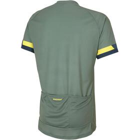Ziener Cubor Fietsshirt korte mouwen Heren groen
